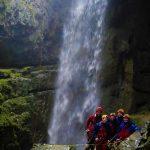 Group of cavers down Alum Pot